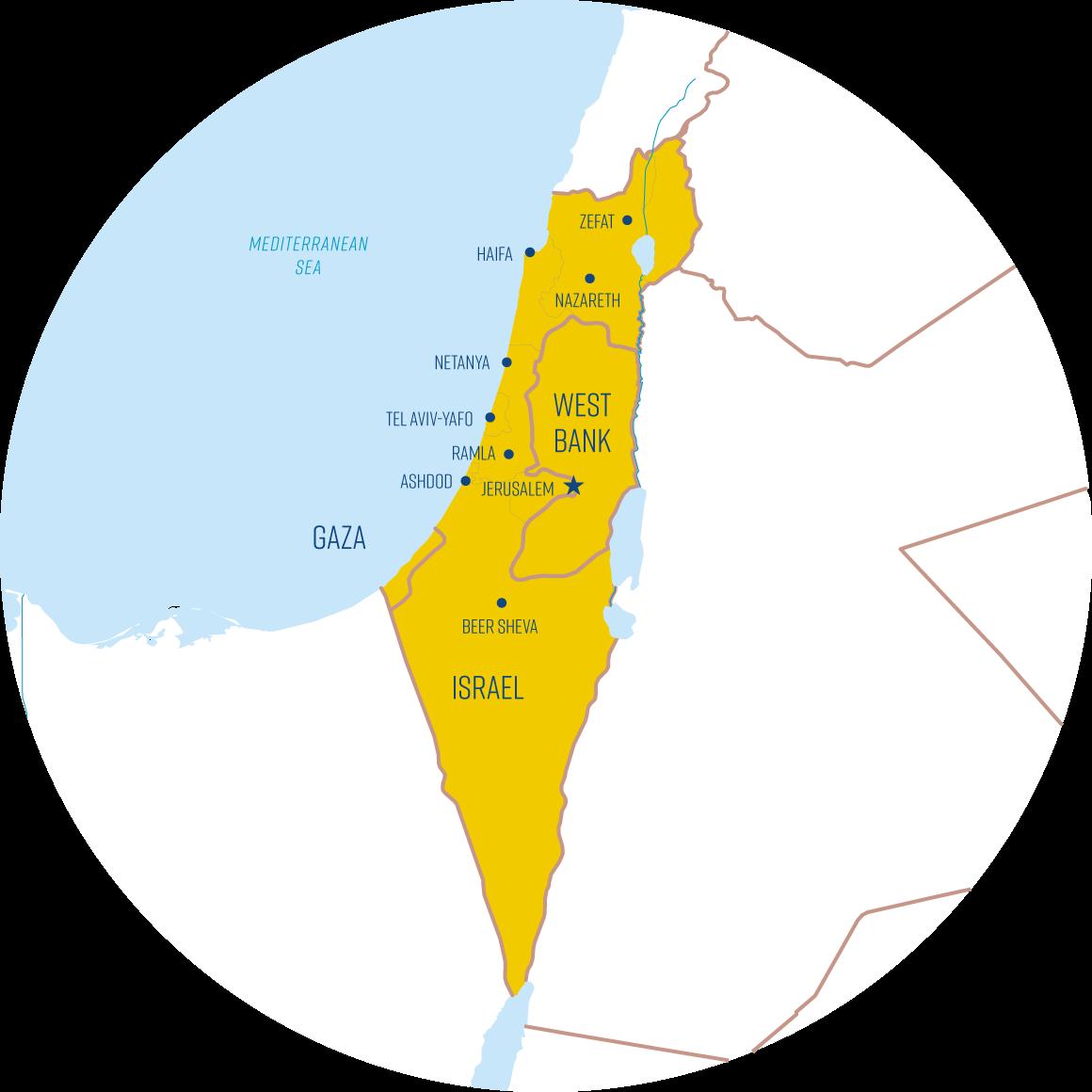 Palästina Israel