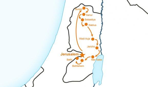 Zur zeit für jesu kinder israel landkarte Karten von